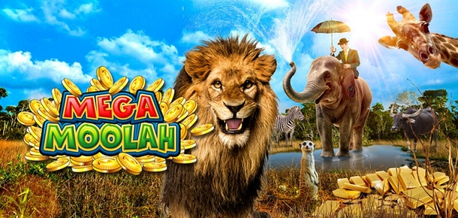 Giant Jackpots in Mega Moolah at Casumo Casino