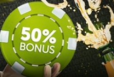 Kasyno Comeon: Reload bonus 50% do 250 PLN (31.03)