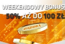 Expekt: Weekendowy reload bonus