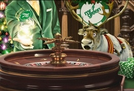 Mr Green: Loterie przy stole Christmas Roulette Table (28.11-18.12)