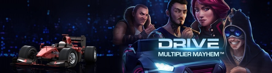 Nowy slot netent drive multiplier mayhem
